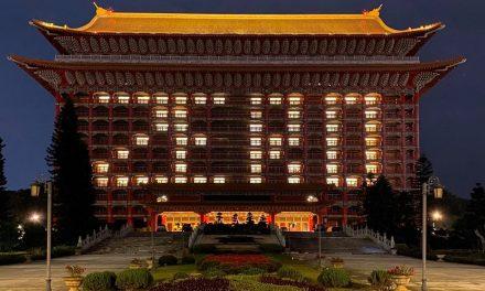 圓山大飯店點燈「ZERO」賀台灣再度零確診