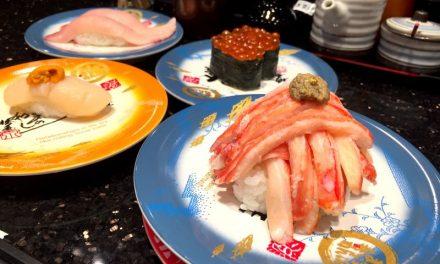 日本人氣迴轉壽司插旗台灣 高檔漁獲日本空運來台