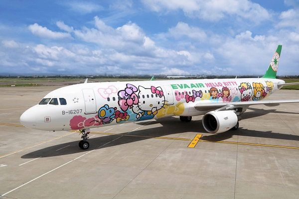 搭Hello Kitty彩繪機「類出國」 可買免稅品、吃飛機餐