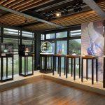 來去宜蘭傳藝中心迌  「器透廊」看特展喝咖啡燒玻璃