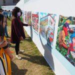 學生畫作妝點  臺南城市新風貌